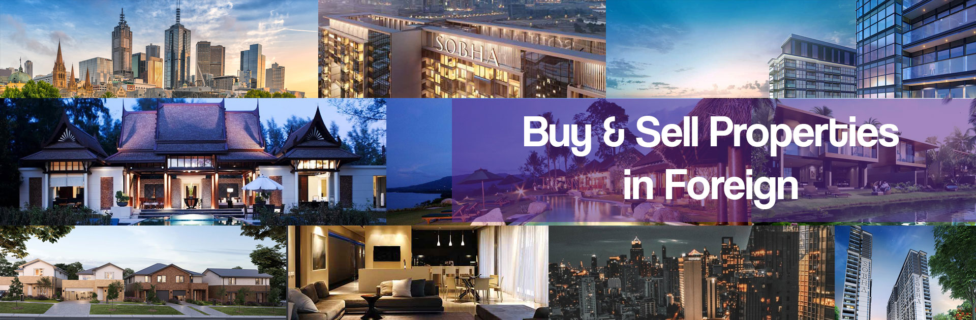 Buy & Sell Properties in Foriegn